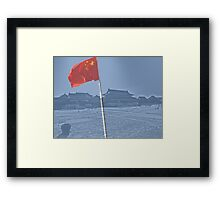 Beijing, Forbidden City Framed Print