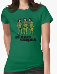 Planet of the Snapes! Womens Fitted T-Shirt