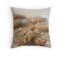 Anzac Biscuits Throw Pillow