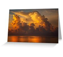 Rising Clouds Greeting Card