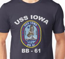 USS Iowa (BB-61) for Dark Colors Unisex T-Shirt