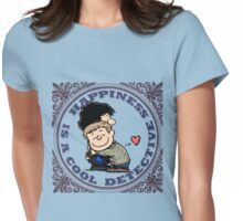 Happiness is a Cool Detective Womens Fitted T-Shirt