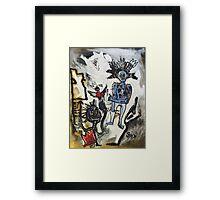 Destruction of Radiance Framed Print