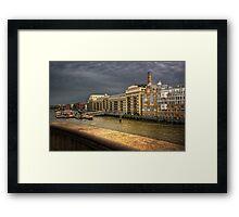 Butler's Wharf Framed Print