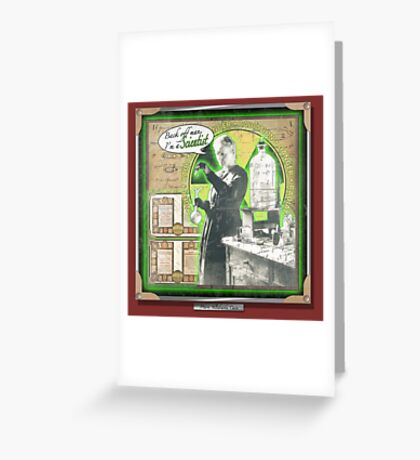 Popular Science: Marie Curie Greeting Card