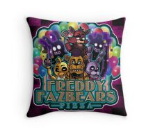 Freddy Fazbear's Pizza Throw Pillow