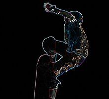 Skater Jump by John Dunbar