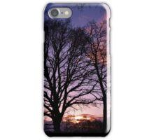 Woodland Edge Sunset iPhone Case/Skin