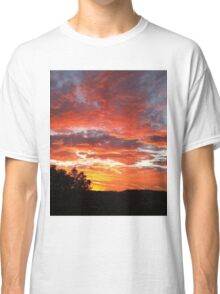 Colourful sunset Classic T-Shirt