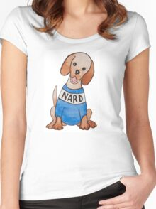 Nard Dog Women's Fitted Scoop T-Shirt