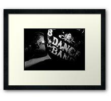 DANCE BAND. Framed Print