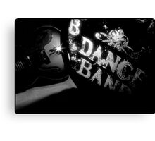 DANCE BAND. Canvas Print