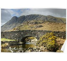 The Bridge By Wastwater Poster