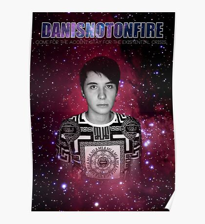 Danisnotonfire - Come for the accent - Poster Poster