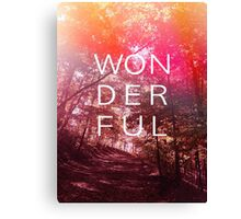 Wonderful outdoors Canvas Print