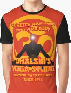 Street Fighter - Dhalsim's Yoga Studio Graphic T-Shirt
