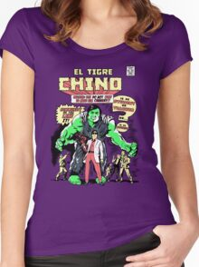 El Tigre Chino Women's Fitted Scoop T-Shirt