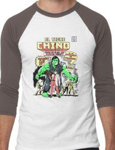 El Tigre Chino Men's Baseball ¾ T-Shirt