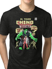 El Tigre Chino Tri-blend T-Shirt