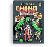 El Tigre Chino Canvas Print