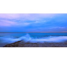 Wave at Dusk Photographic Print