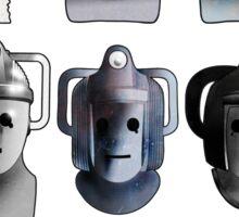 Cyberman Evolution Sticker