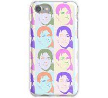 Multi Talking Head Pattern iPhone Case/Skin