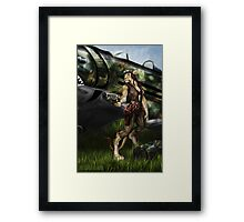 Rise to Glory Framed Print