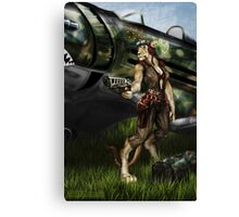 Rise to Glory Canvas Print
