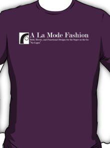 A La Mode Fashion Large Logo T-Shirt