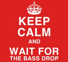 Keep Calm and Wait for the Bass Drop by robbclarke