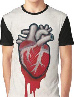 Human Heart Graphic T-Shirt