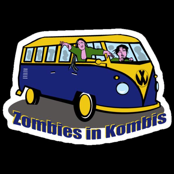 Zombies in Kombis by Anne van Alkemade