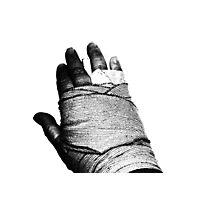 AAAAAAAAHHHHHHHHH ... Broken Hand ... Photographic Print
