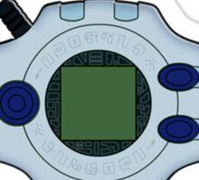 Digivice and crests (Digimon Adventure) Sticker