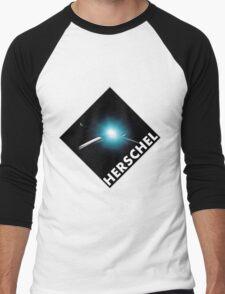 Herschel Space Observatory Design Team Logo Men's Baseball ¾ T-Shirt