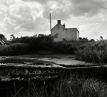 Old Boat - Brancaster Staithe by Richard Flint