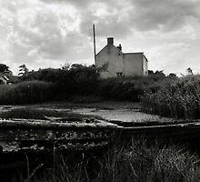 Old Boat - Brancaster Staithe by Richard Flint