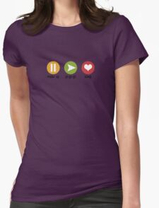 Cute Controller for Kids & Babies Womens Fitted T-Shirt