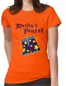 Merlin's Pants! Womens Fitted T-Shirt