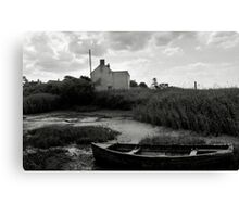 Old Boat - Brancaster Staithe II Canvas Print