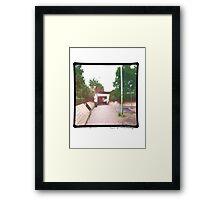 Giles Babel - track 4 (title pending) Framed Print