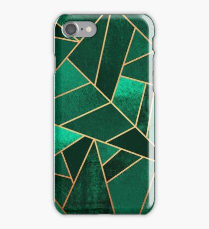 Emerald and Copper iPhone Case/Skin