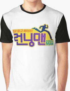 Running Man Logo Graphic T-Shirt