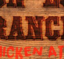 Legend of Zelda - Lon Lon Ranch Sign Sticker