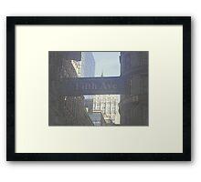 Fifth Ave Framed Print