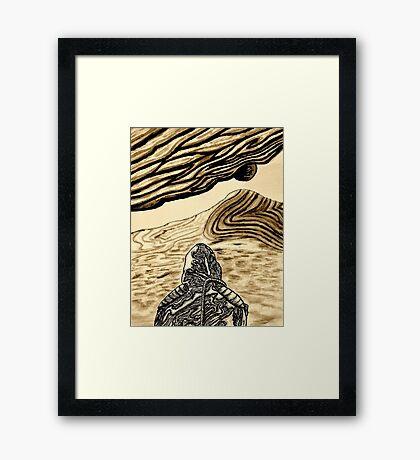 Escaping Arrakis  Framed Print