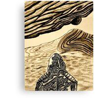 Escaping Arrakis  Canvas Print