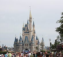 Cinderella's Castle by lighthousegrphx