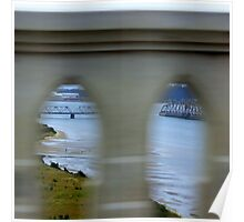 Bridge Drive By...North Bend, Oregon Poster